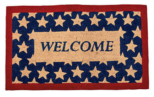 Vintage patriotic home decor we got the funk for Patriotic welcome home decorations