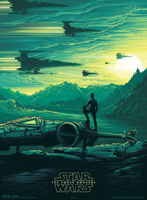"Star Wars: The Force Awakens ""Poe Dameron"" IMAX Print by Dan Mumford"