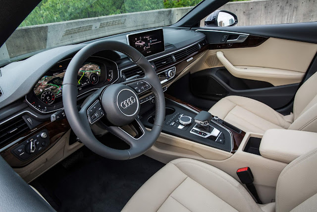 Novo Audi A5 Sportback 2018 - interior