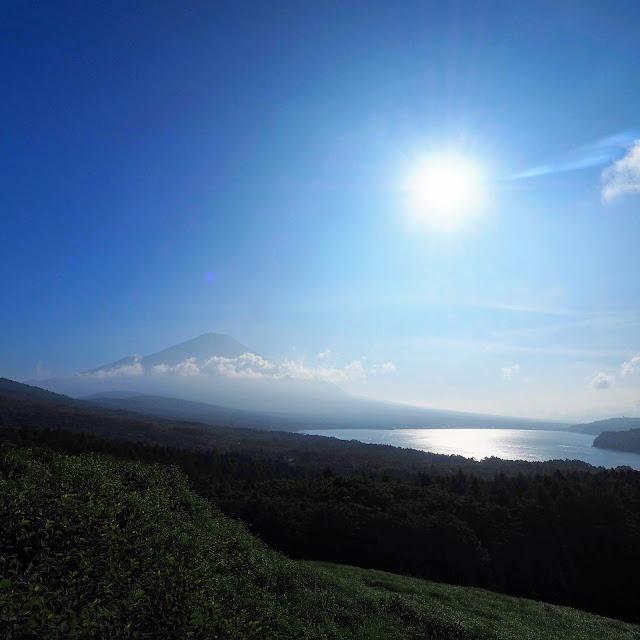 パノラマ台 富士山 山中湖