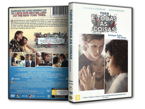 Capa DVD Tudo e Todas as Coisas