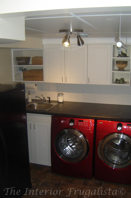 Laundry Room Makeover on a tight budget