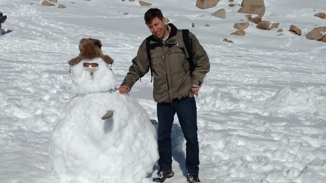 snowman in Patogonia, Bariloche