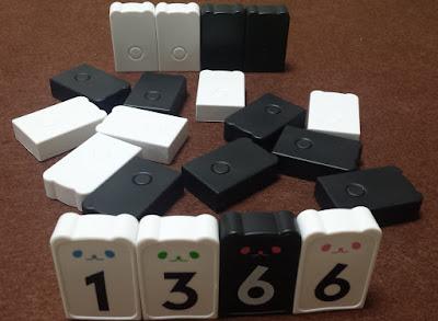 はじめてのアルゴ 牌を立てる(白1,白3,黒6、白6)