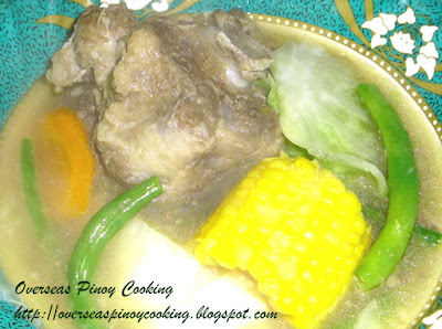 Nilagang Oxtail Recipe