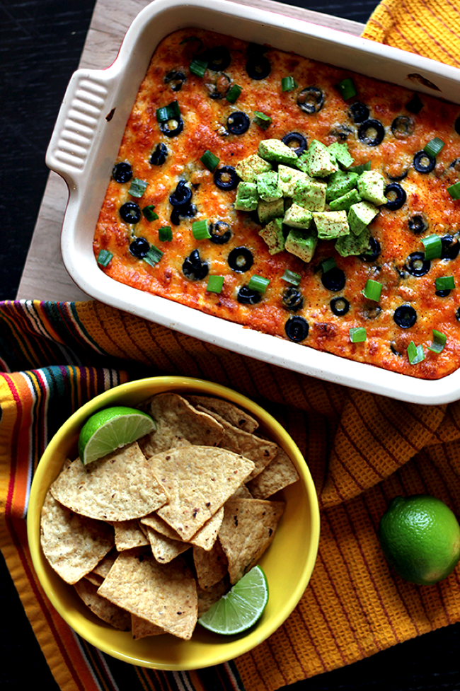 MEXICAN STYLE LOADED BAKED POTATO DIP