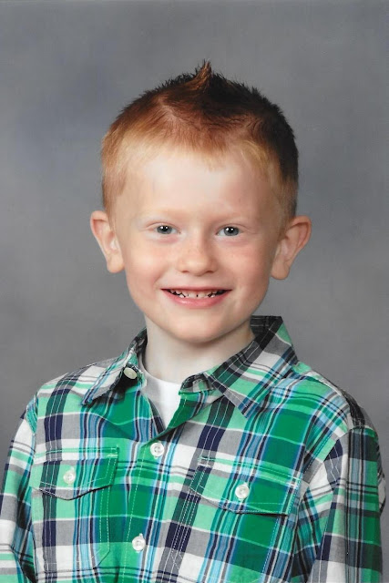 Porter's First Grade Pic