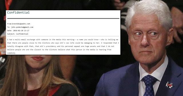 BREAKING: WikiLeaks releases 2nd batch of 2,000 & Clinton Campaign Insiders Fear Bill's Sex Life Could Sink Hillary  101016bill