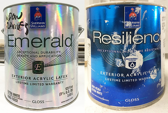 Sherwin Williams porch repair paint emerald resilience