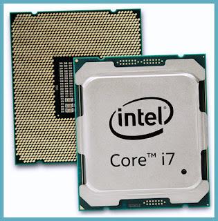 الرموز في انواع معالجات i من انتل مثلا Core i5-8600U •U
