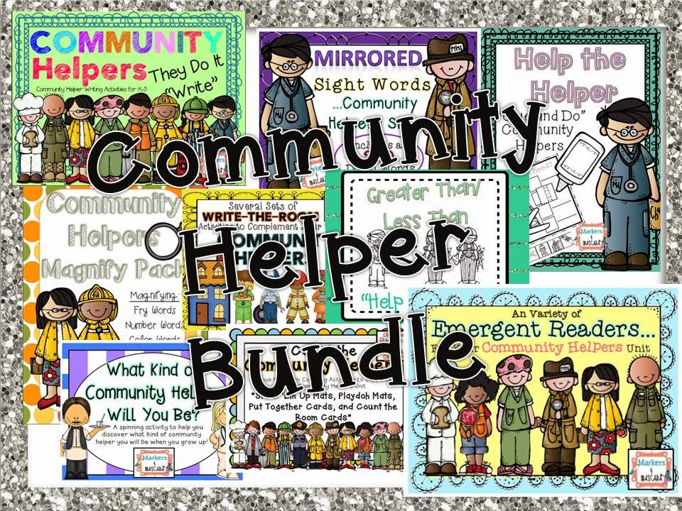 http://www.teacherspayteachers.com/Product/Community-Helper-Bundle-1415684