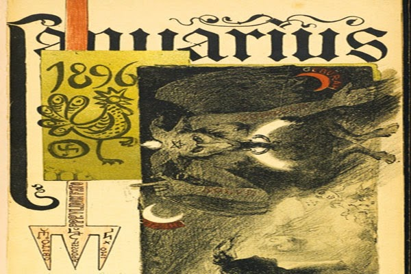 Gorgeous, Creepy Pages From a Late 19th-Century Art Nouveau Occult Calendar