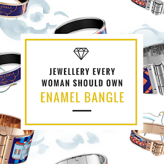 Jewellery Every Woman Should Own Enamel Bangle Jewellery Curated Blog