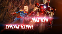 Captain Marvel e Iron Man