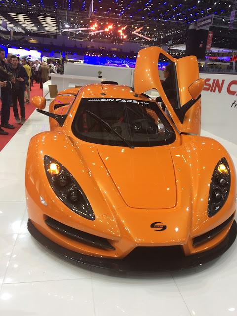 Sin Cars - SIN R1 avant