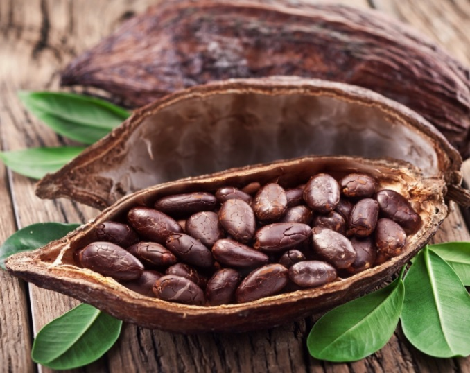 African cacao beans
