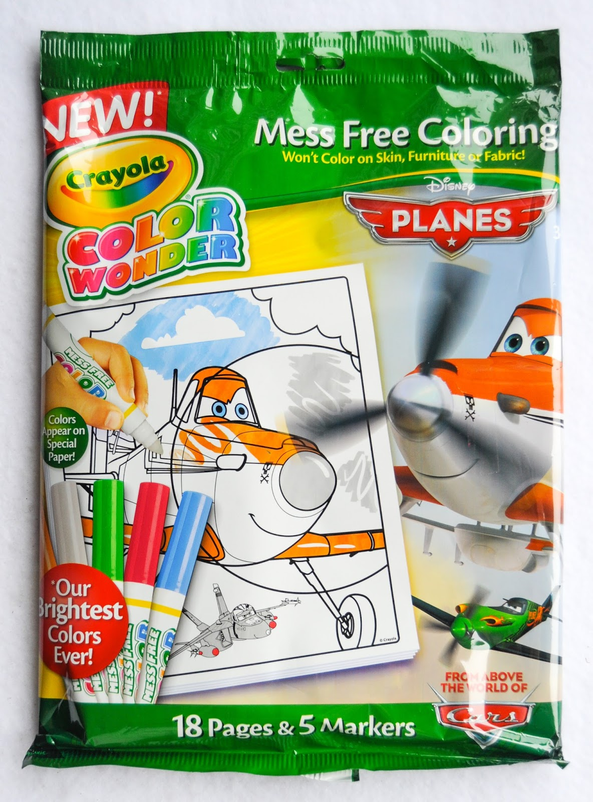 Crayola color wonder planes coloring pad and markers what for Crayola personalized coloring pages