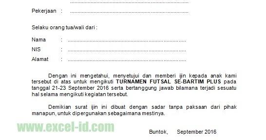 Function Contoh Surat Ijin Orang Tua Wali Size12kb Rumus Ajaib