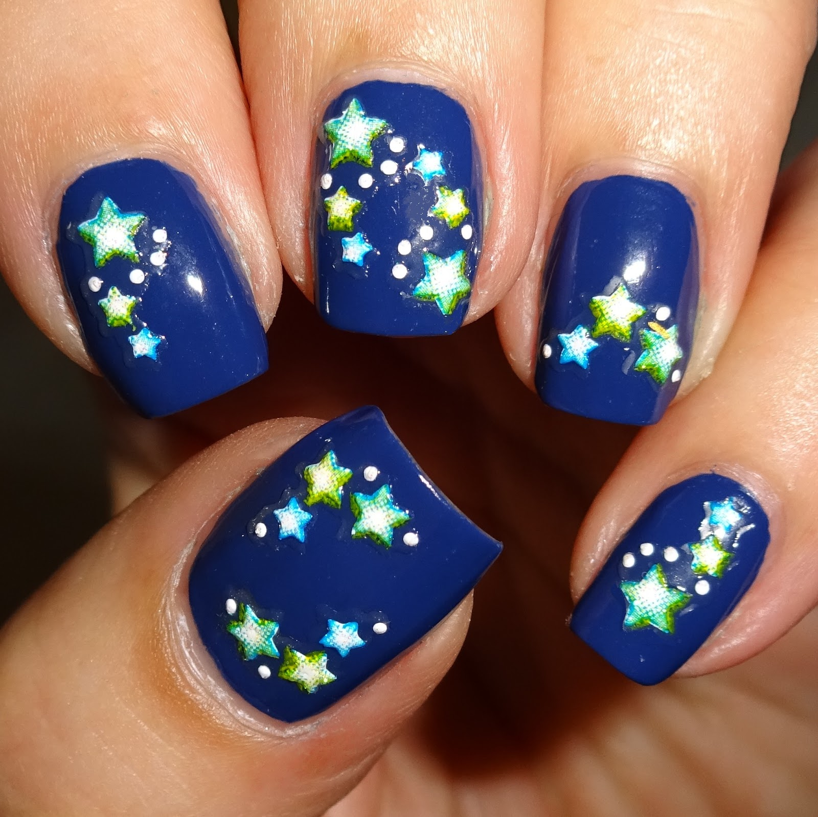 Wendy\'s Delights: Stargazer Nail Stickers from Sparkly Nails