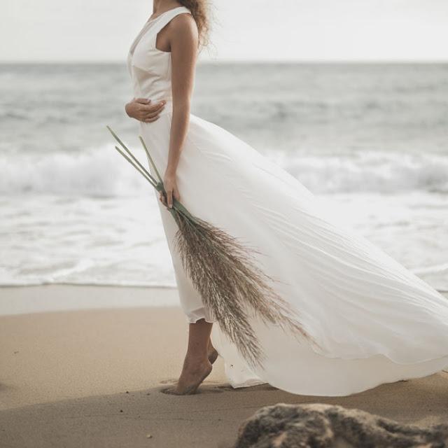 robe de mariee claire joly shooting d inspiration bord de mer robe gwen