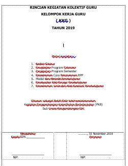 Pengesahan Laporan KKG Materi Pembuatan Alat Peraga Kelas 4 SD