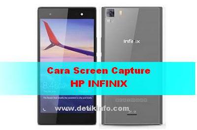 Cara screencapture HP Infinix Android semua Tipe