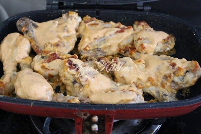 Ayam Percik Kelantan Disediakan Nana