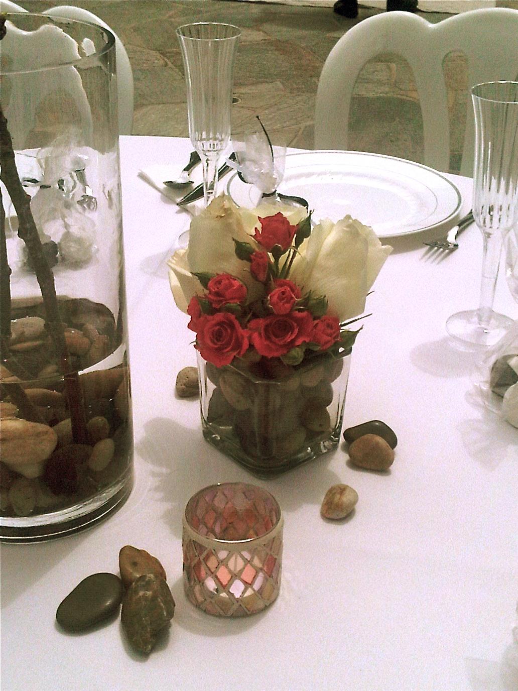 Plumeria Cake Studio Cherry Blossom Wedding Centerpieces