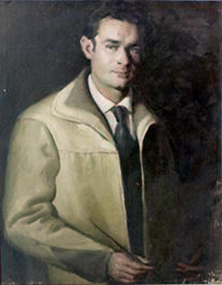 Juan Hidalgo, Autorretrato,  Pintores Realistas Españoles, Galería de retratos figurativos