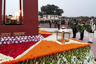National War Memorial inaugurated by PM Narendra Modi in New Delhi