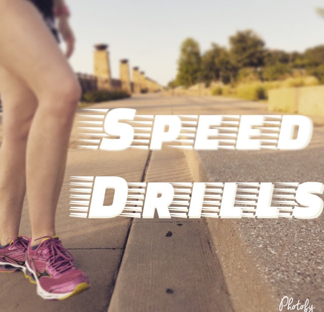 speed drills running skip hop fast feet marathon training race training virtual running club virtual races