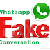 How To Make Fake Whatsapp Conversation On Android||व्हात्सप्प की fake conversation कैसे बनाये