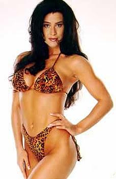 WCW Nitro Girl Whisper aka Rebecca Hickenbottom
