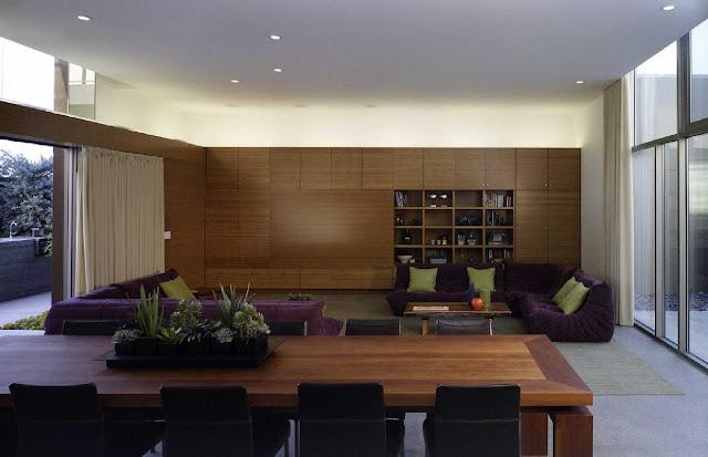 09 Yin-Yang House by Brooks + Scarpa Architects