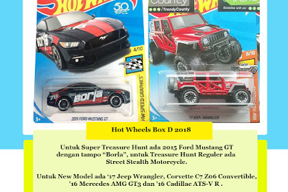 Bocoran Hot Wheels Box D 2018 (Jeep Competition Begins)