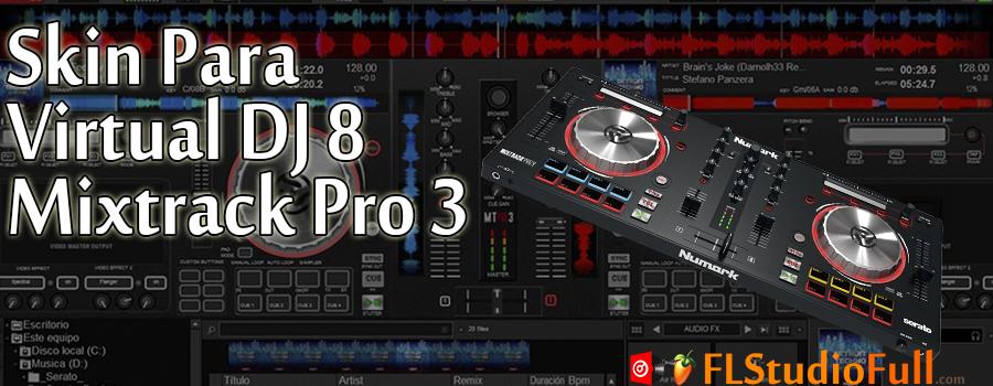 Skin Para Virtual DJ 8 Mixtrack Pro 3 Grátis