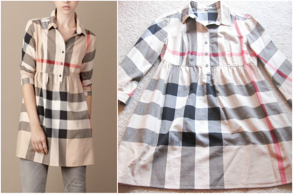 6f61c7fb8c burberry check shirt dress. Burberry Check Tunic - another