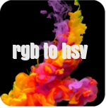 rgb to hsv conversion-best online tool