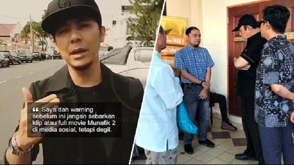 Saya Dah Warning Sebelum Ini,  Syamsul Yusof Bersyukur, Individu Sebar Filem Munafik 2 Di Media Sosial Didenda RM100k