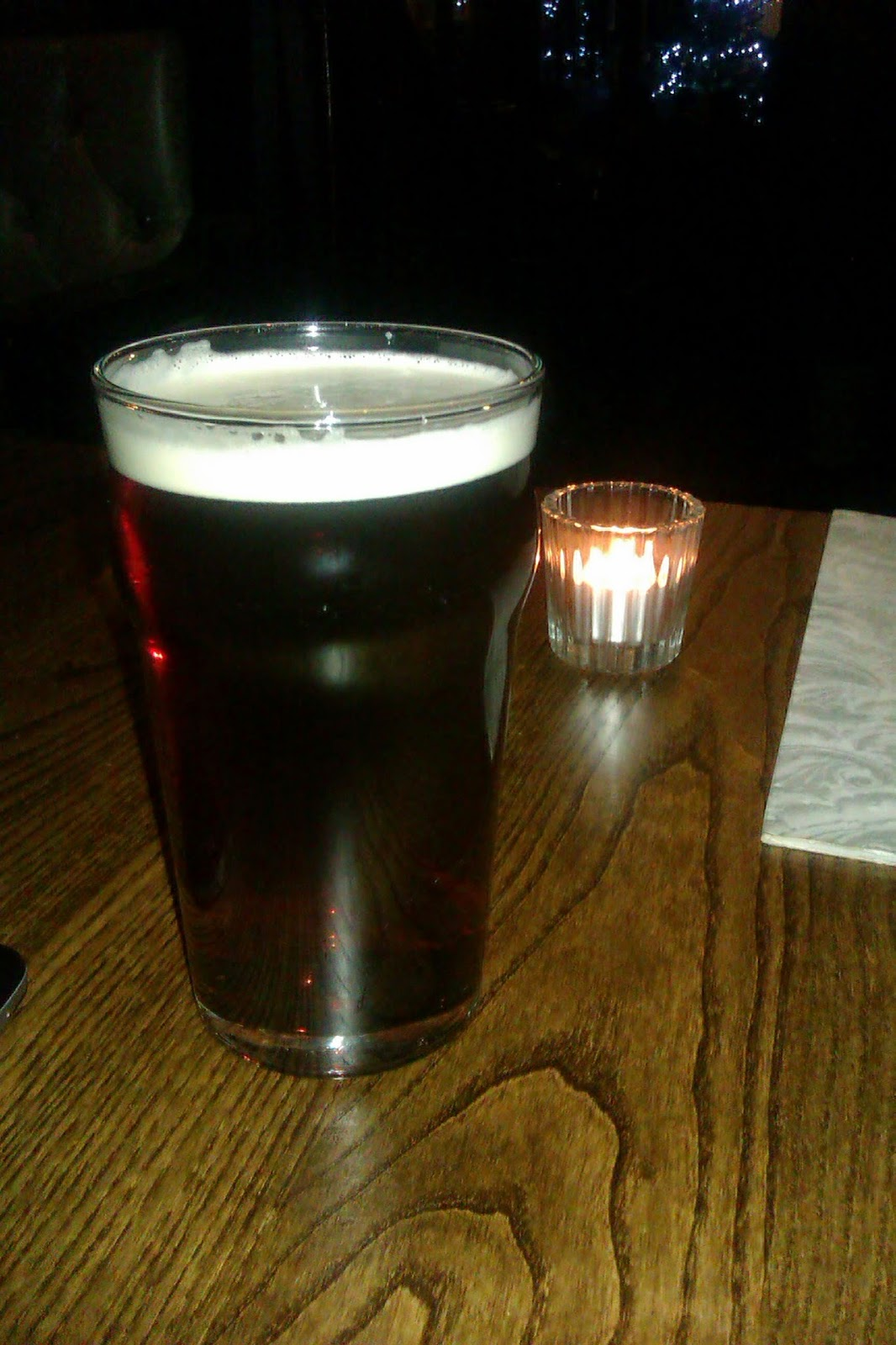 Una pinta de cerveza