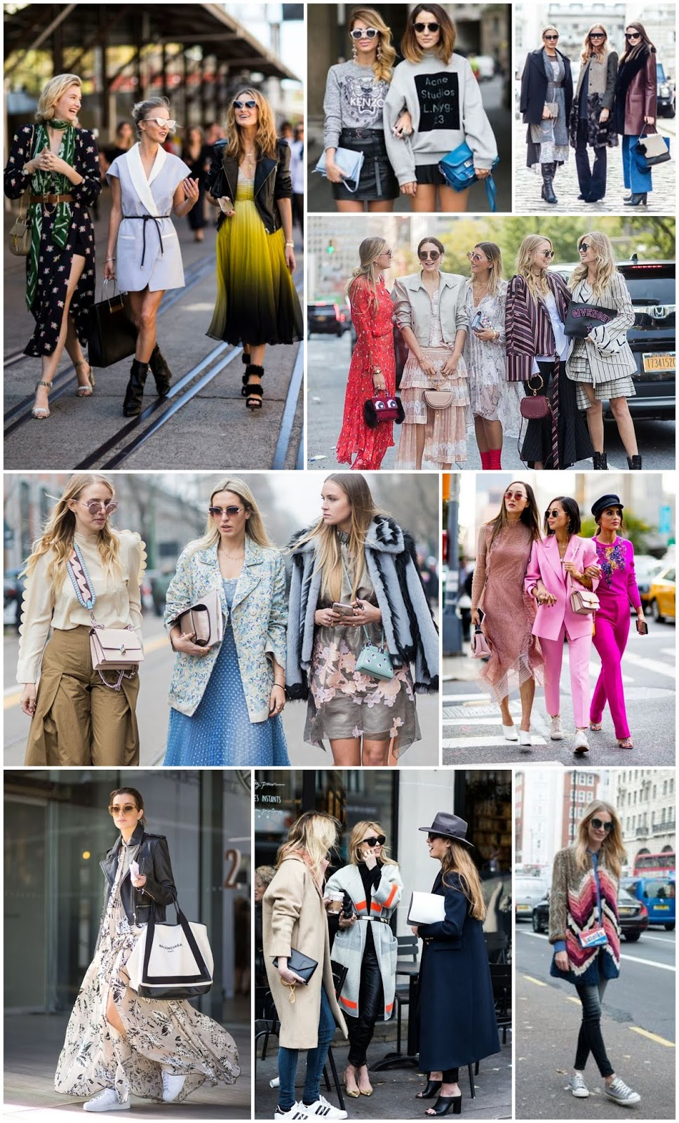 Fashion Week - all about the street style