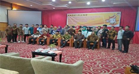 KPU Padang Tetapkan CalonWalikota dan Wakil Walikota Terpilih