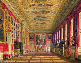 The King's Gallery, Kensington Palace by Charles Wild (c1816)