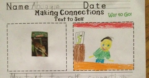 Making Connections In First Grade Just A Primary Girl