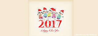 Download Merry Christmas and Happy New Year Facebook Cover