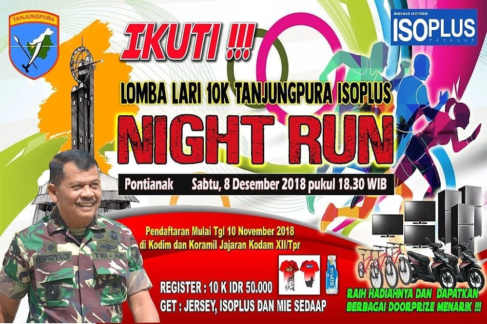 Tanjungpura Isoplus Night Run • 2018
