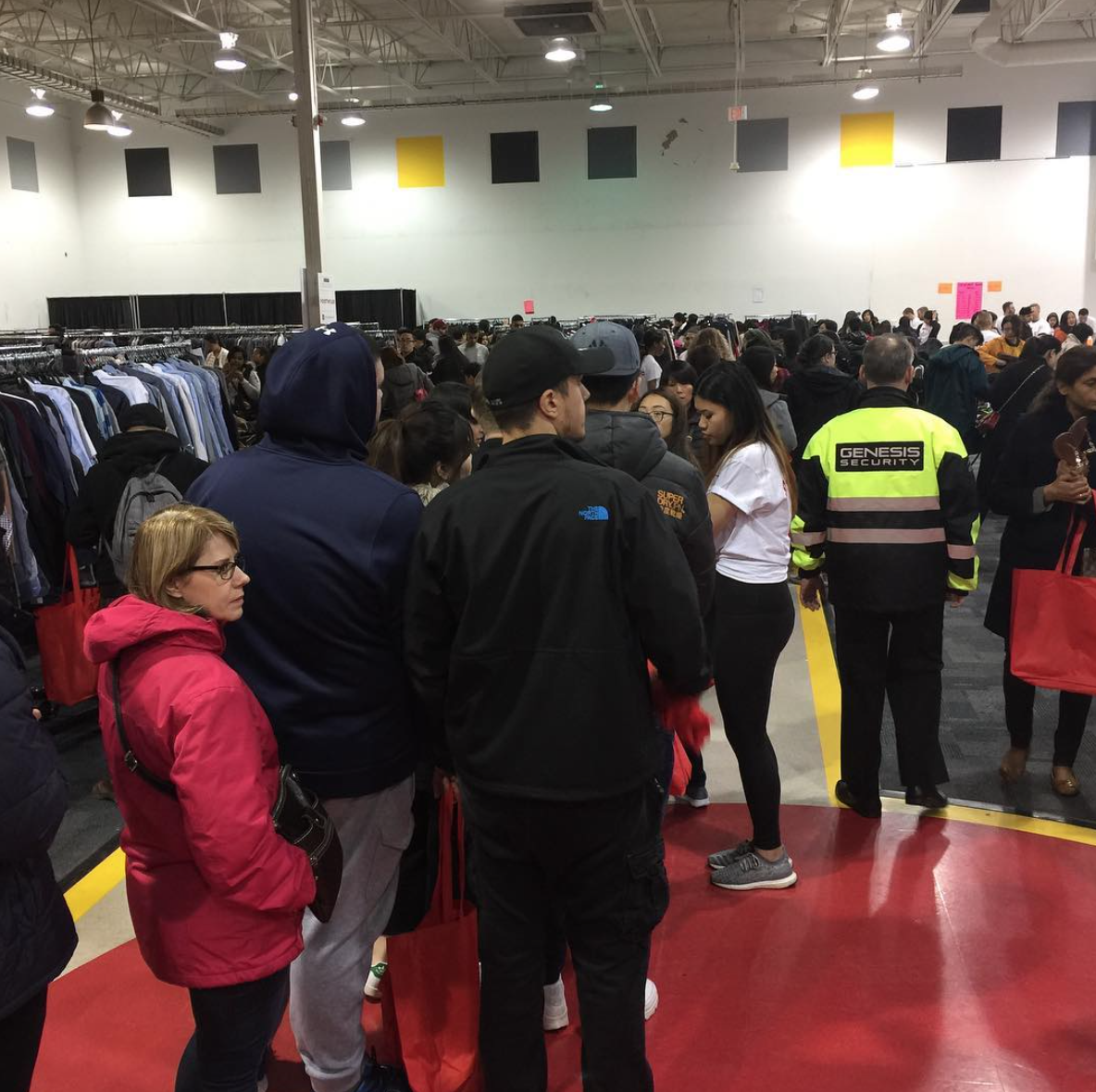Nordstrom Vancouver Warehouse Sale 2017