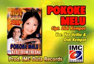 Lirik Lagu Pokoke Melu - Didi Kempot