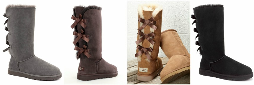 UGG Bailey Bow Tall Sheepskin Boots for only $161 (reg $230)
