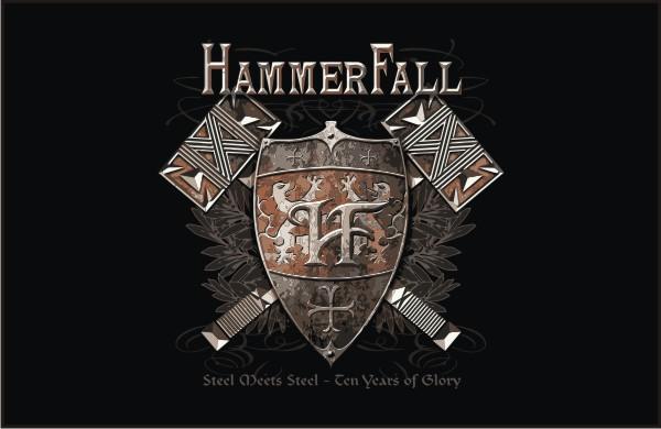 Hammerfall Steel Meets Steel  Vector Tshirts